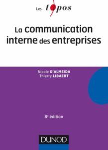 """Couverture du livre """"La communication interne des entreprises"""""""