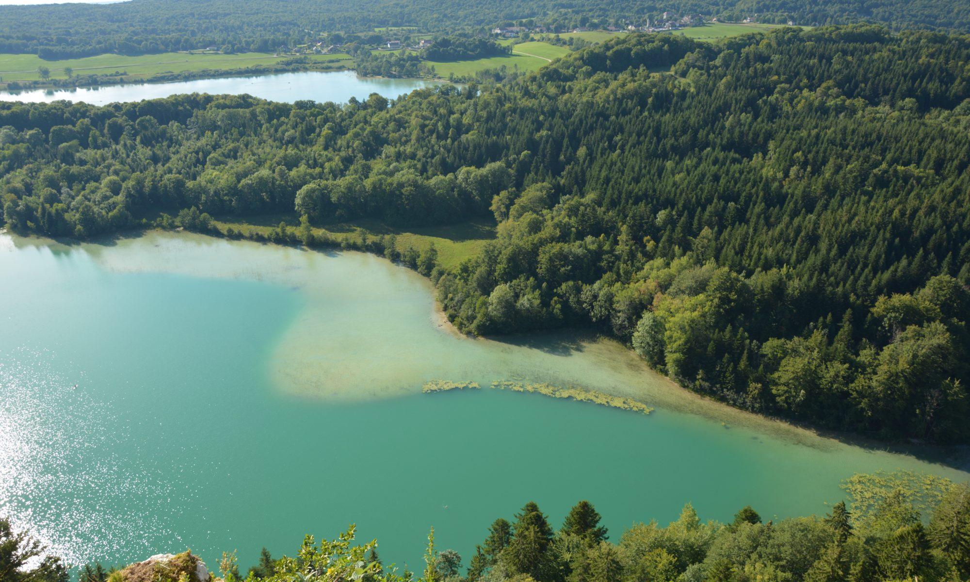 Belvédère des 4 lacs dans le Jura